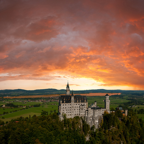 Late Risers Excursion Royal Castle of Linderhof and Oberammergau